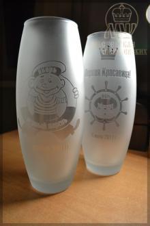 вазы с гравировкой - подарки на корпоративном мероприятии